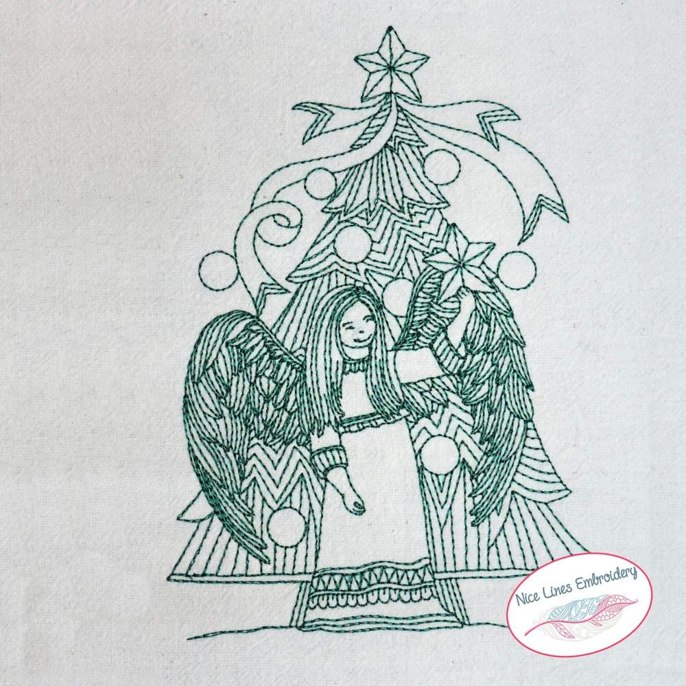 get 24 weihnachtsbaum skizze einfach