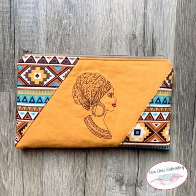 Stickdatei African Beauty