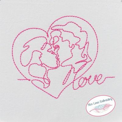 Stickdatei Lovers