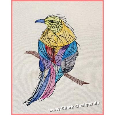 Stickdatei Tintenvogel